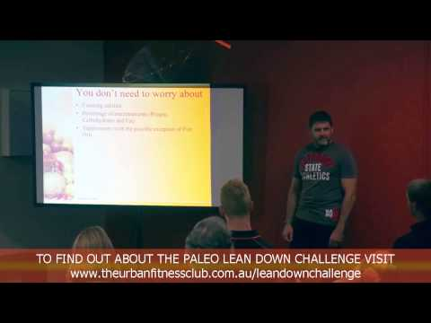 Free Paleo Nutrition Seminar at Urban Fitness Blackburn Gym