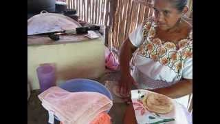 Chacchoben Tortilla Making