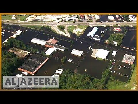 🇺🇸 Hurricane Florence aftermath: Pollution spills into waterways l Al Jazeera English