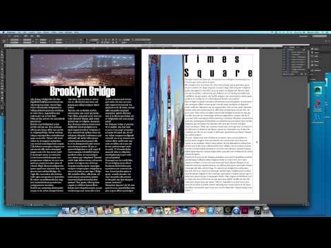How To Create Magazine In Adobe Indesign Cc For It Begginers In Under Minutes