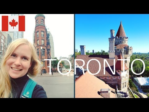 German Girl VS Toronto Weather | Travel Vlog: Toronto, Canada: CN Tower, Casa Loma, Kensinton Market