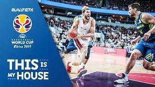 Latvia v Slovenia - Full Game - FIBA Basketball World Cup 2019 - European Qualifiers