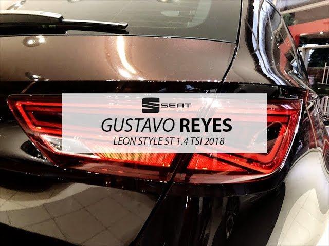 SEAT LEON ST PURPURA BOHEMIO CON GUSTAVO REYES