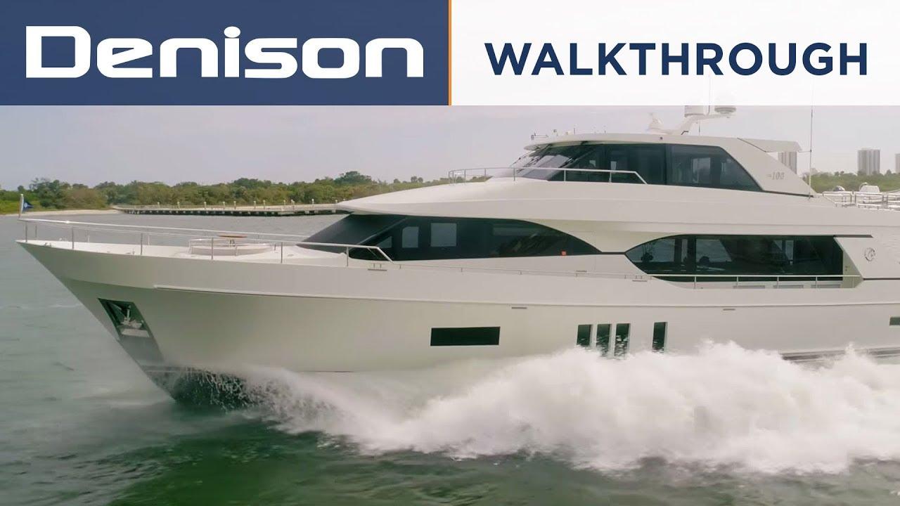 Ocean Alexander 100 Motoryacht [Walkthrough]