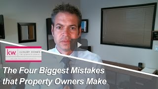 Long Beach Real Estate Agent: The Four Biggest Mistakes that Property Owners Make