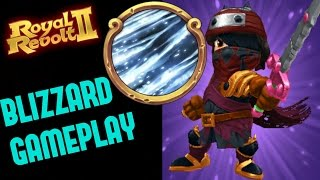 ROYAL REVOLT 2 - BLIZZARD GAMEPLAY TIPS