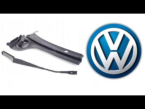 VW Jetta 6 -  Как снять жабо и дворники?