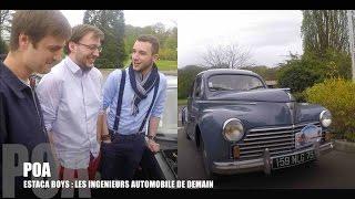 La Peugeot 203 des ingénieurs automobiles de demain - Estaca 1/3
