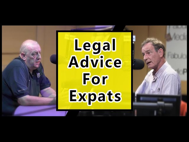 Legal Advice for Expats in Thailand (19 March 2021) Behind the Mic