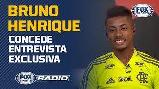 REGRAS DE JORGE JESUS E SONHO COM SELEÇÃO! Bruno Henrique concede entrevista exclusiva