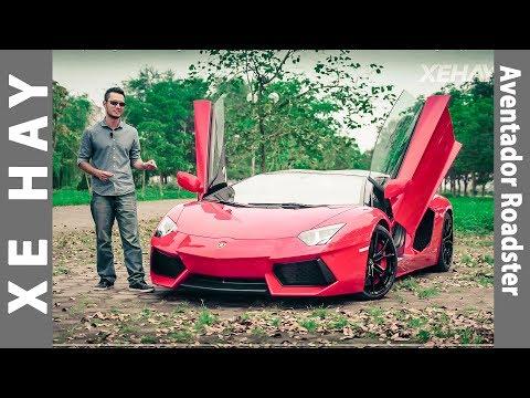 [XEHAY.VN] Trải nghiệm Lamborghini Aventador Roadster duy nhất tại Việt Nam  4k  [Đánh giá xe]