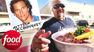 Baixar Guy Fieri Tries Brazilian Food Truck Recommended By Matthew McConaughey | Diners, Drive-Ins & Dives