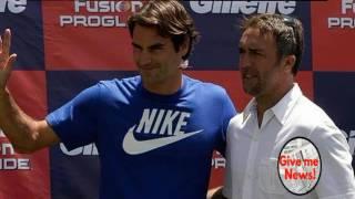 La Fantástica anécdota de cuando Federer conoció a Batistuta!