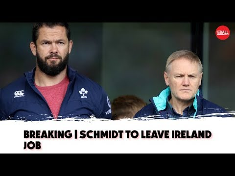 Alan Quinlan on | Joe Schmidt's departure | Andy Farrell steps up |