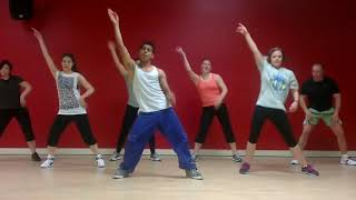 Far East Movement ft Justin Bieber & Redfoo LMFAO//Live my Life Remix//Dance fitness with Nilesh