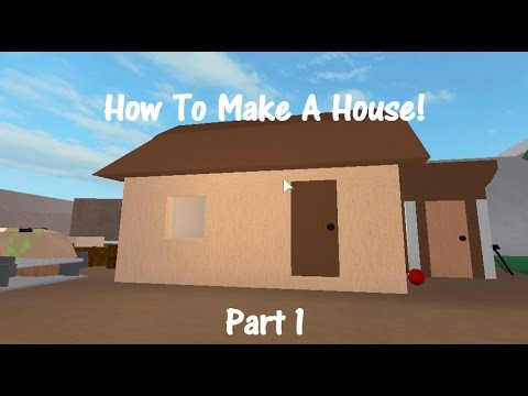 How To Make Home how to make a starter home! part 1! lumber tycoon 2 - youtube
