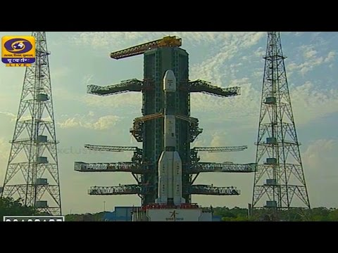 GSLV Mk2 GSLV-F05 Insat 3DR Weather Satellite Launch