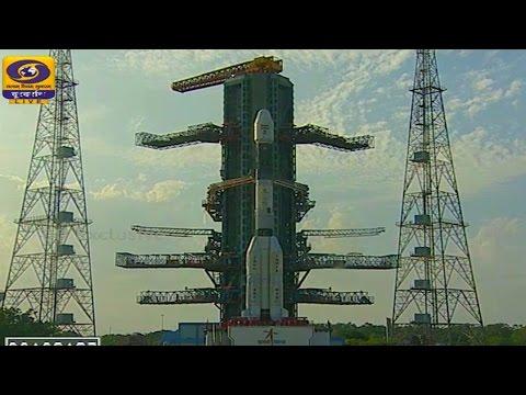 GSLV Mk2 GSLV-F05 Insat 3DR Weather Satellite Launch