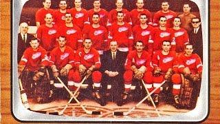 Detroit Red Wings Vintage Hockey Cards