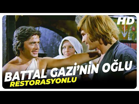 Battal Gazi'nin Oğlu | Cüneyt Arkın Eski Türk Filmi Tek Parça (Restorasyonlu)
