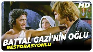 Battal Gazinin Oğlu  Cüneyt Arkın Eski Türk Filmi Tek Parça (Restorasyonlu)