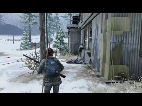 The Last Of Us - How To Glitch Ellie Outside The Map