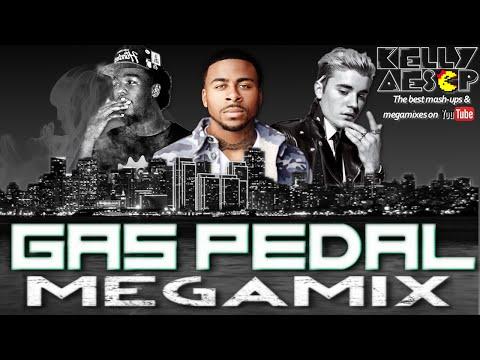 Sage The Gemini, Justin Bieber, & Iamsu!  Gas Pedal  MEGAMIX BEST