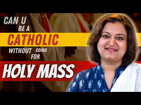 Why bother going for Holy Mass || Catholic Convert experience with Mass || Actress Mohini Christina