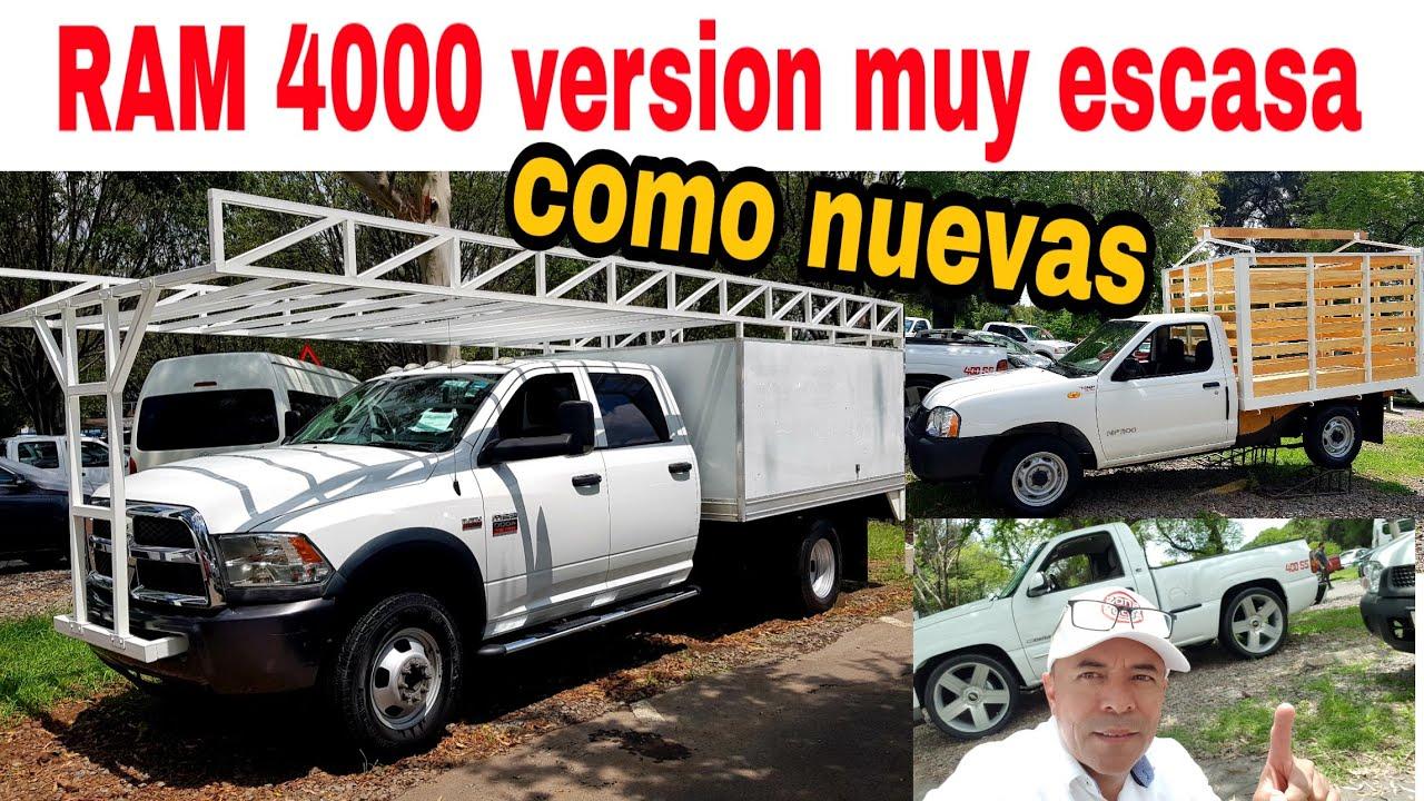 RAM 4000 nissan estaquitas cheyenne 400ss camionetas en venta tianguis de autos usados zona autos