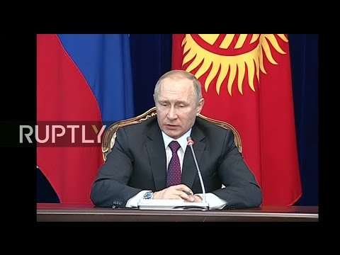 LIVE: Putin and Kyrgyzstan's President Atambayev hold joint press conference in Bishkek