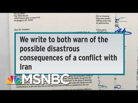 Congress Members Caution Trump On Being Duped Into War With Iran | Rachel Maddow | MSNBC