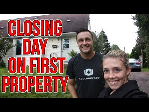 First Time Real Estate Investor Closing Day On Rental Property