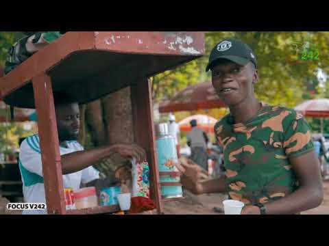 VÉRITÉ 242 CONGO BRAZZAVILLE, Focus sur un vendeur de café ambulant à Brazzaville