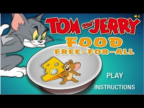 Tom And Jerry Cartoon - Food Free For All