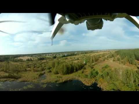 Видео 360 с квадрокоптера