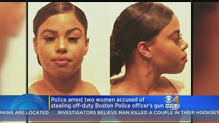 Two RI Woman Charged With Stealing Boston Police Officer's Gun