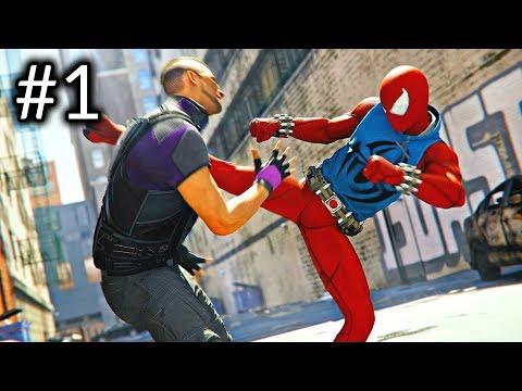 SPIDER-MAN - PS4 Pro Gameplay Part 1 - INTRO Marvel&39;s Spider-Man 4K