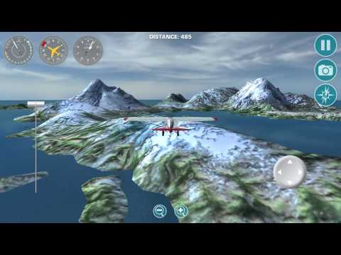 Airplane Fly Bush Pilot - Gameplay Android