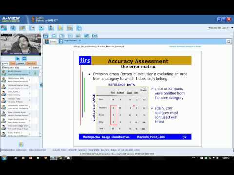 20 August 2014 Image Classification Techniques & Accuracy Assessment by Ms. Minakshi Kumar