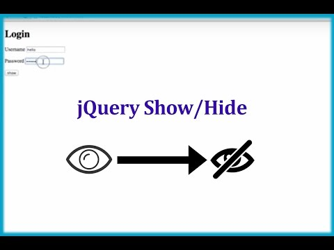 How to Show/Hide Password in TextBox with Button using