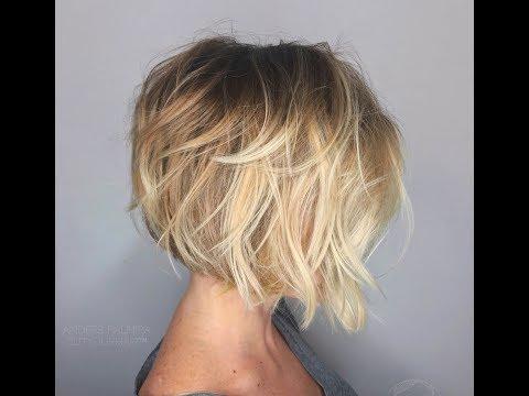 Стрижки 2019 боб каре на тонкие редкие волосы. Модные женские прически на весну. Фото.