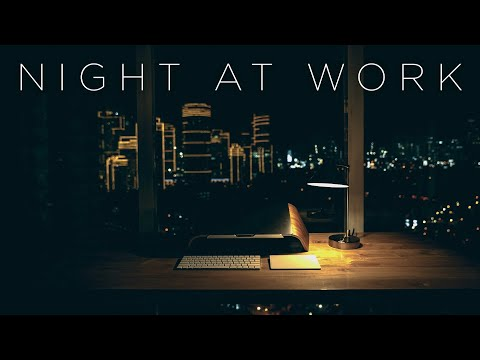 Night at Work | Instrumental Chill Music Mix