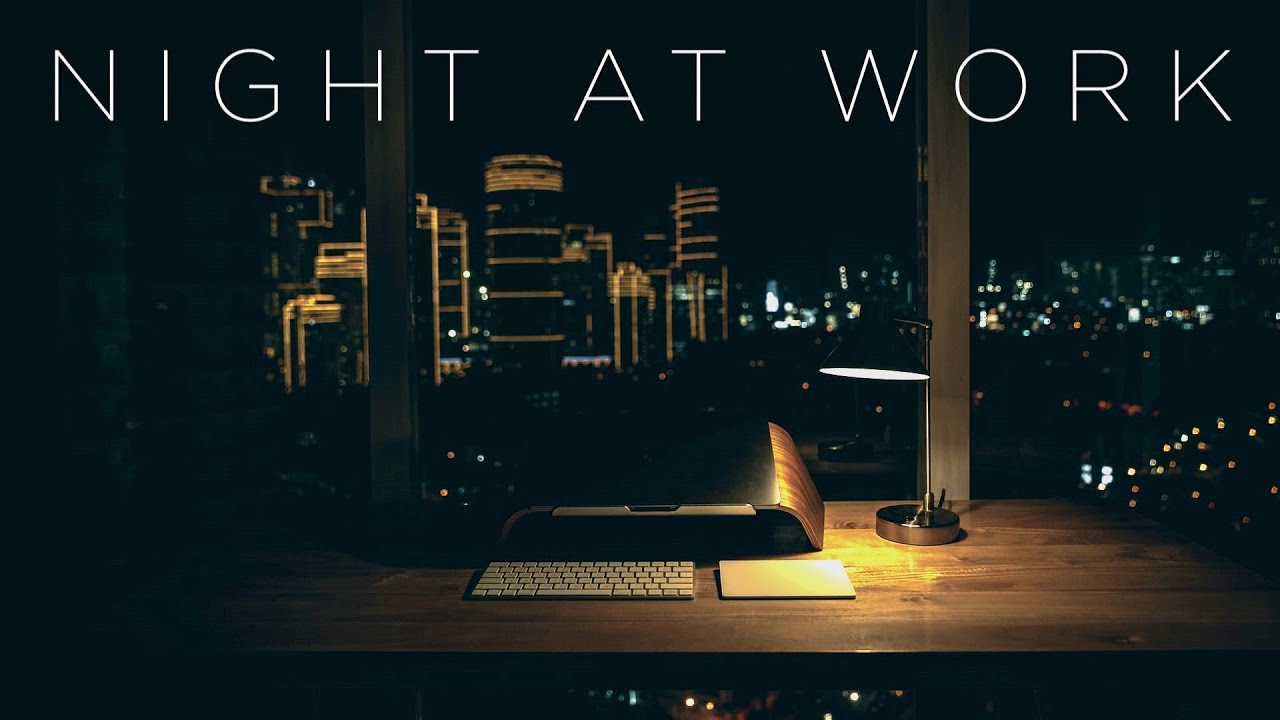 Download Night at Work | Instrumental Chill Music Mix
