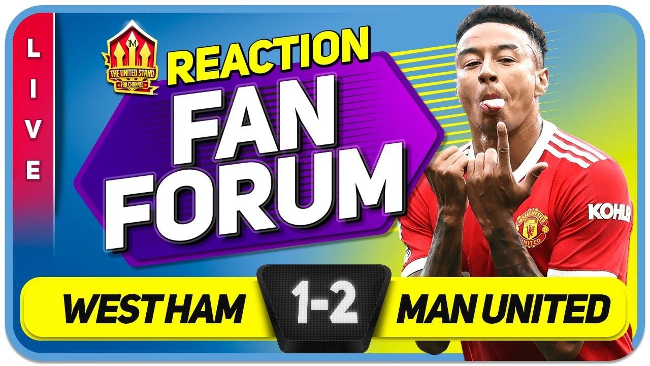 Download DE GEA SAVES! LINGARD'S REDPEMPTION! West Ham 1-2 Man United   LIVE Fan Forum
