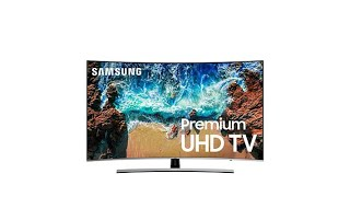 """Samsung NU8500 55"""" Curved 4K Smart Ultra HD TV with 2Yea..."""