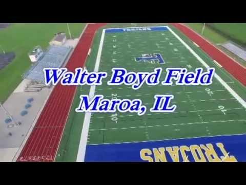 Walter Boyd Field Home of the Maroa-Forsyth Trojans