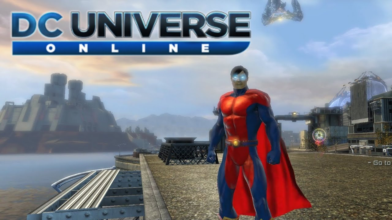 HOW BIG IS THE MAP in DC Universe Online? Run Across the Map