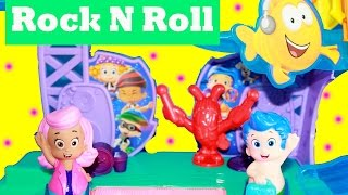 Bubble Guppies Playset Rock 'n Roll Toys Kinder Bubble Guppie Popular Children Songs Video Puppy