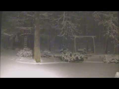 February 25, 2015 Snowfall Time Lapse: Huntsville, AL