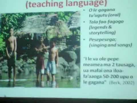 Importance of the Samoan Language - Dr. Salu Hunkin-Finau